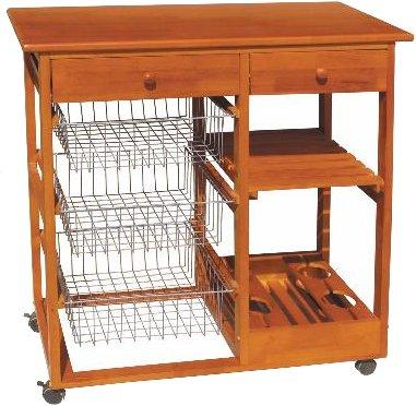 Emejing carrelli cucina in legno pictures home interior - Carrelli da cucina foppapedretti ...